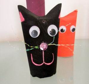 Arty Crafty Kids - Paper Roll Cats