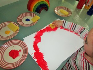 Arty Crafty Kids - Rainbow Colour Mixing