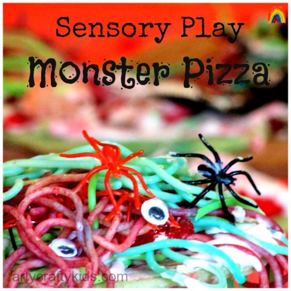 Arty Crafty Kids - Sensory Play Monster Pizza