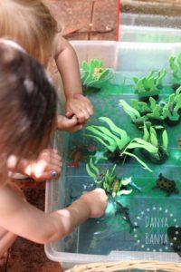 Arty Crafty Kids - Sensory - Ocean Themed Water Play  - Danya Banya