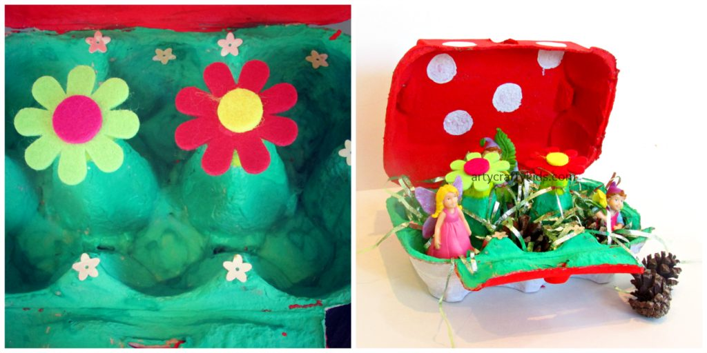 Arty Crafty Kids - Toadstool Fairy Garden