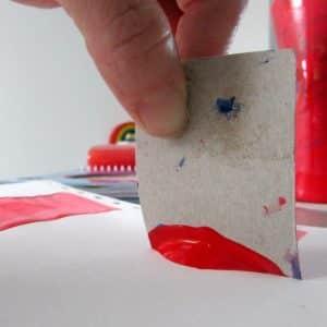 Arty Crafty Kids - Art - Scrape Painting
