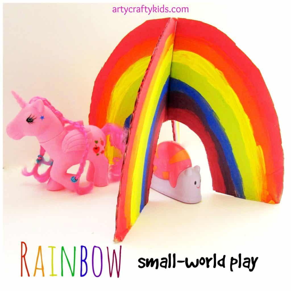 Arty Crafty Kids - Play - Rainbow Small World Play