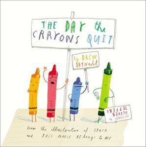Arty Crafty Kids - Book Club - The Day the Crayons Quit Book Review