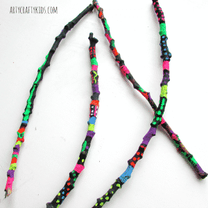 Arty Crafty Kids - Craft - Craft Ideas for Kids - Magical Stick Wands