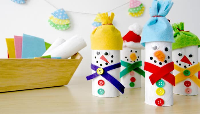 paper roll snowman craft paper roll snowman 5131