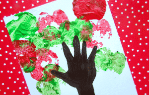 Arty Crafty Kids - Art - Art Ideas for Kids - Handprint Apple Tree