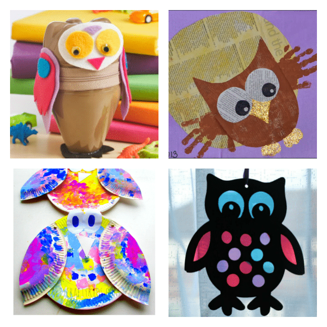 25 Owl Crafts For Kids Arty Crafty Kids