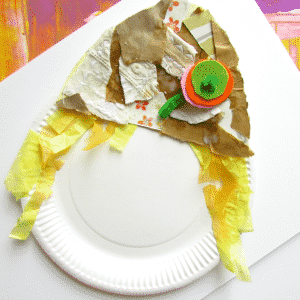 Arty Crafty Kids - Craft - Craft Ideas for Kids - Paper Plate Scarecrow  sc 1 st  Arty Crafty Kids : paper plate scarecrow craft - pezcame.com