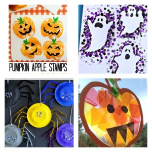 Arty Crafty Kids - Crafts - Craft Ideas for Kids - Easy Halloween Crafts