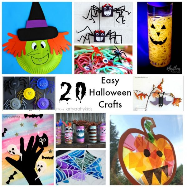 arty crafty kids craft craft ideas for kids 20 easy halloween crafts