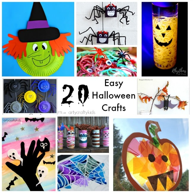 20 Easy Halloween Crafts Arty Crafty Kids