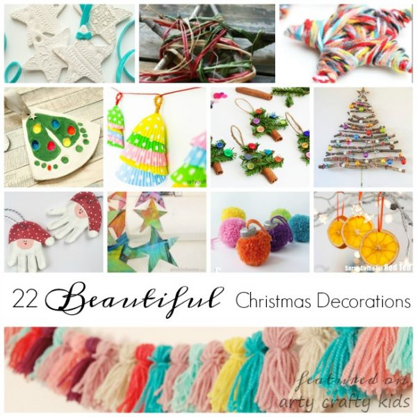 22 simple christmas decorations