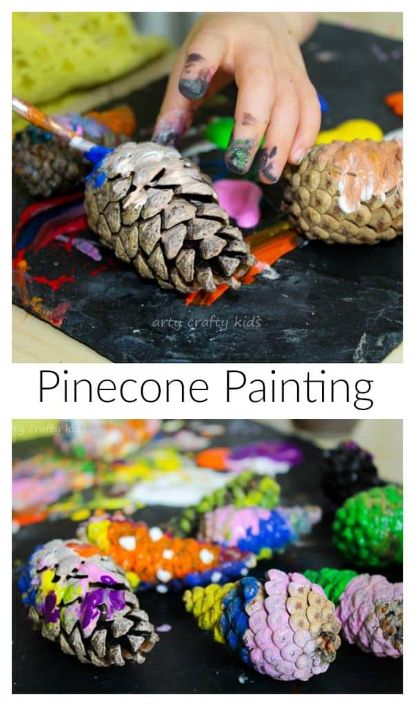 Little Pinecone Art Projects