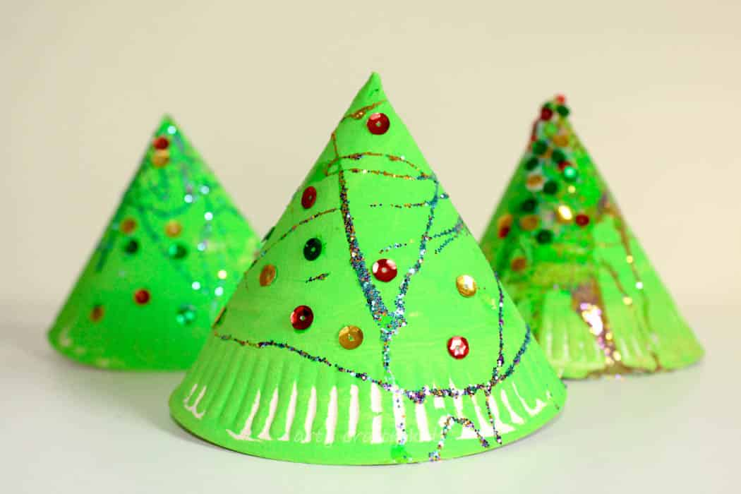 Christmas tree projects for preschool