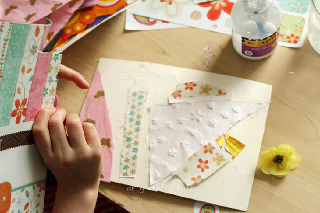 Recycled Paper Art Journal