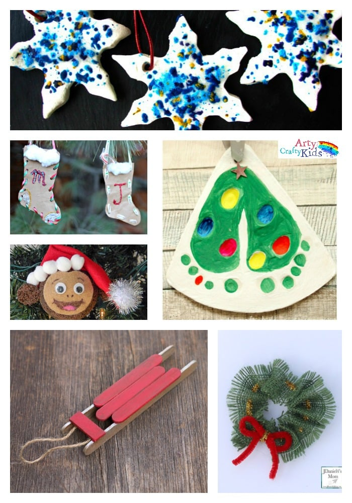 arty crafty kids 36 awesome christmas ornaments fun to make and seasonably jolly kids