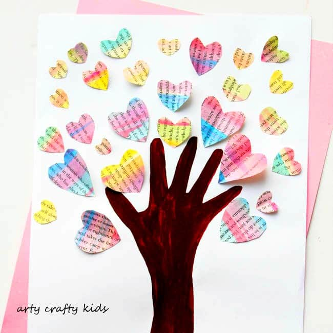 Valentine Kid Crafts Easy