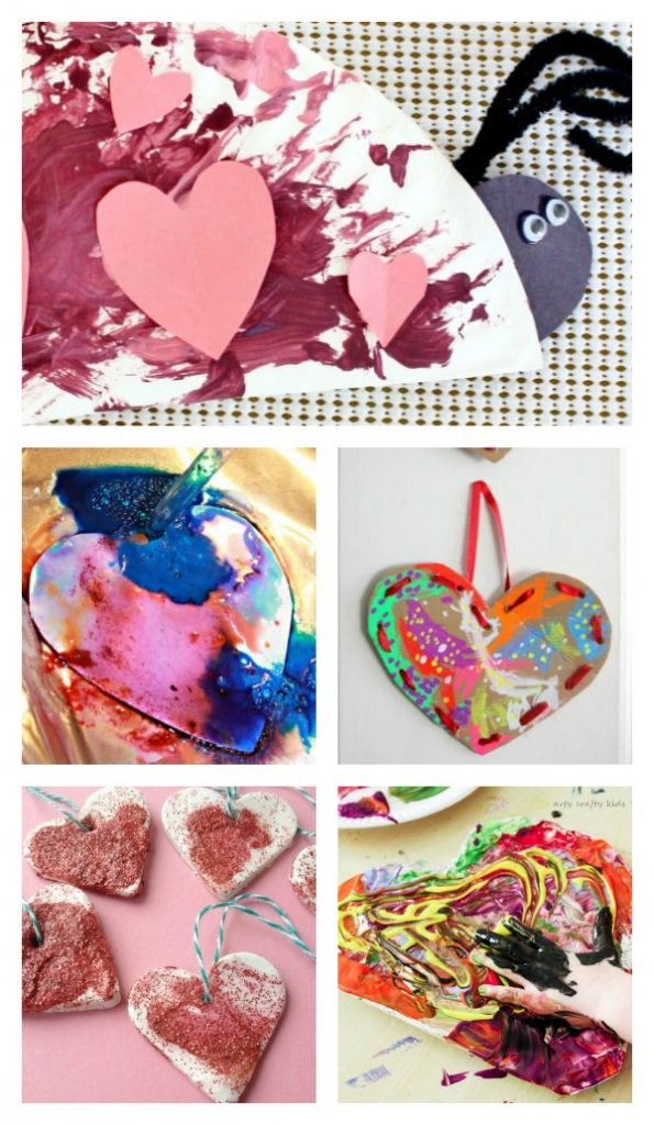 Arty Crafty Kids | Valentines | 20 Valentines Preschool Crafts & Activities | Do-able, fun and easy Valentines crafts for preschoolers. Craftsand activities 2-3 years will be able to do!