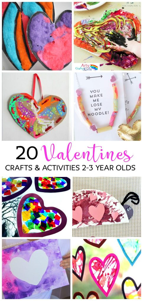 Arty Crafty Kids Valentines 20 Valentines Preschool Crafts