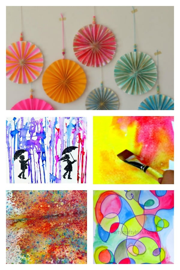Creative Watercolor Art Projects For Kids Arty Crafty Kids