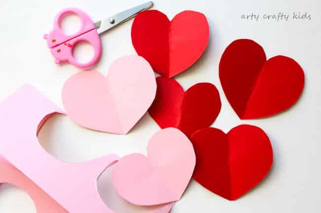 Arty Crafty Kids Valentines Craft Ideas For Kids Toddler