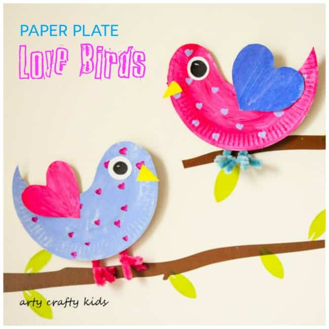 Spring Paper Plate Crafts