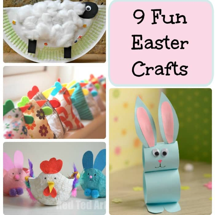 9 Fun Easter Crafts Arty Crafty Kids