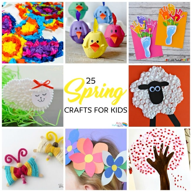 spring arts and crafts ideas easy crafts for arty crafty 7176
