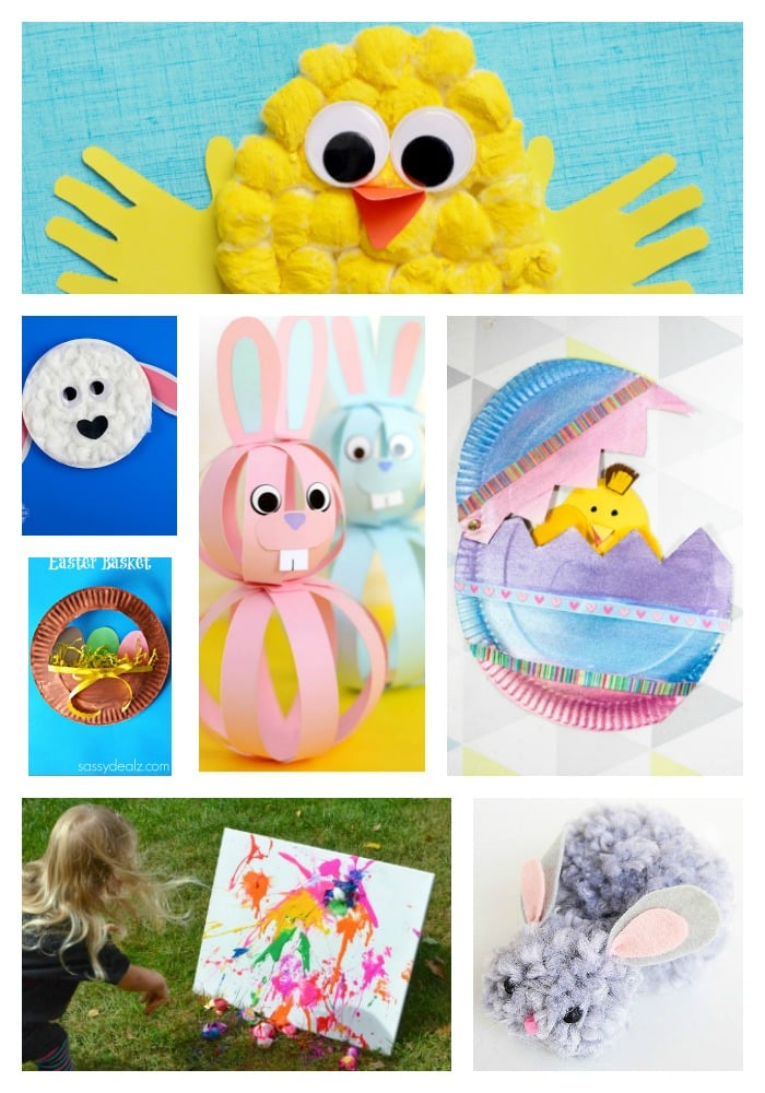 25 Super Cute Easter Crafts Arty Crafty Kids
