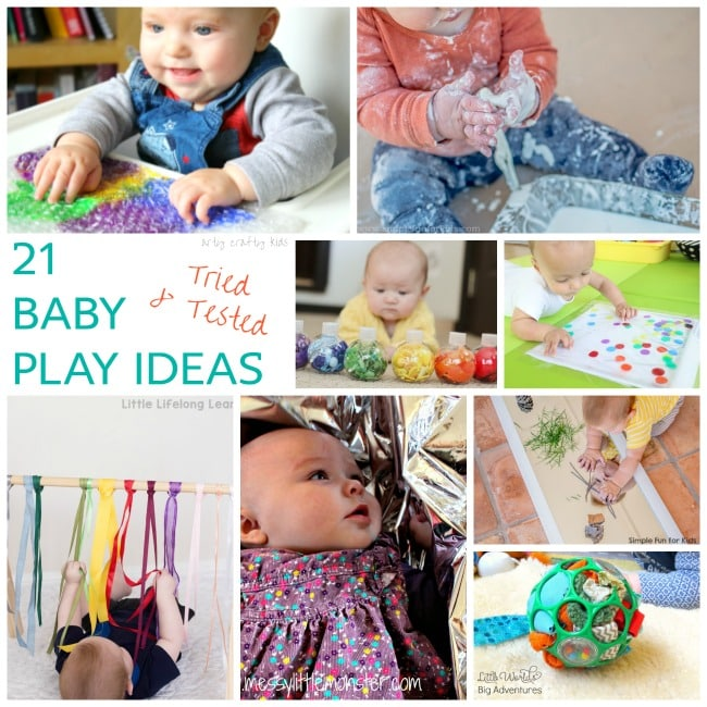Simple Baby Play Ideas Arty Crafty Kids