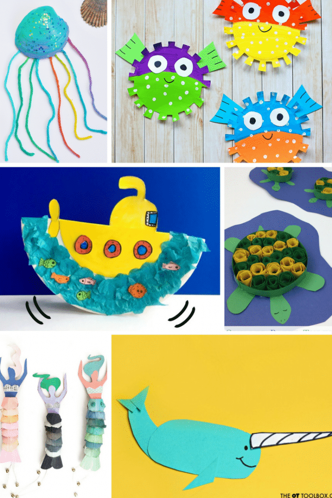 Arty Crafty Kids | Craft | Under the Sea Crafts | 24 Awesome Under the Sea crafts for kids