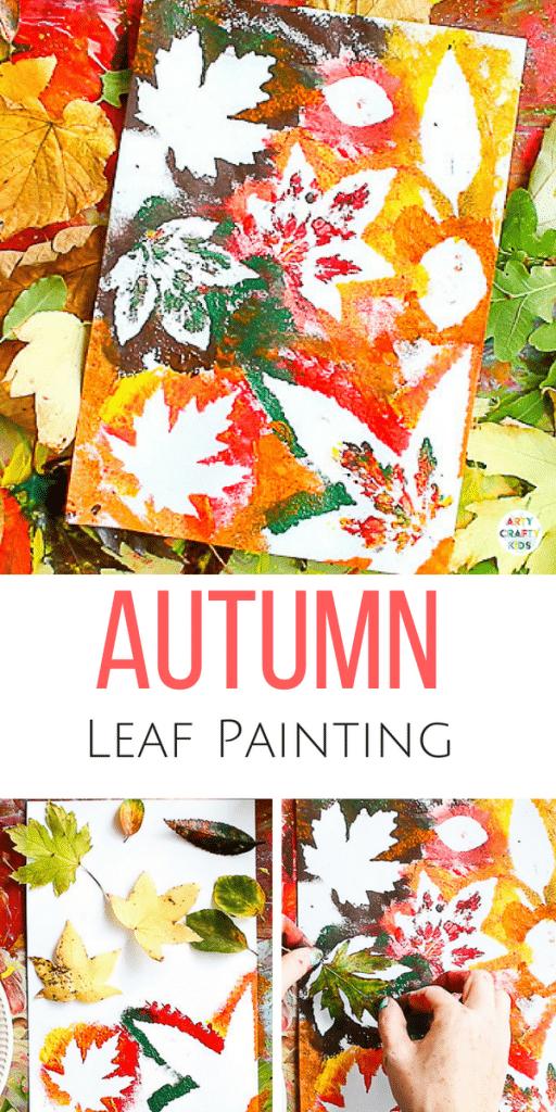 Autumn Leaf Painting