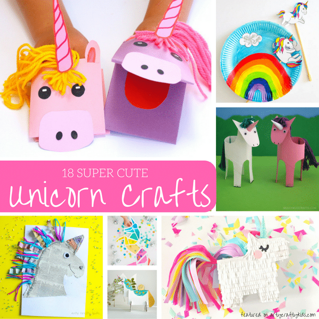 Arty Crafty Kids | Craft | 18 Super Cute Unicorn Crafts | 18 super cute Unicorn Crafts for kids