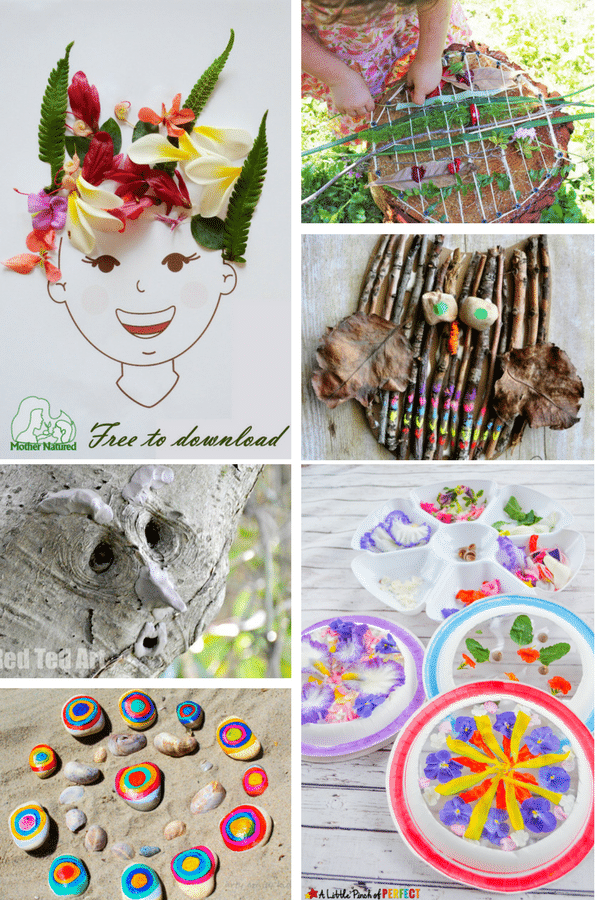 Arty Crafty Kids | Art | Bold Beautiful Nature Ideas Art for Kids | 24 Stunning art nature art projects for kids!