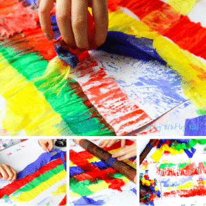Arty Crafty KidsArt | Bleeding Crepe Paper Art | An easy art project for kids