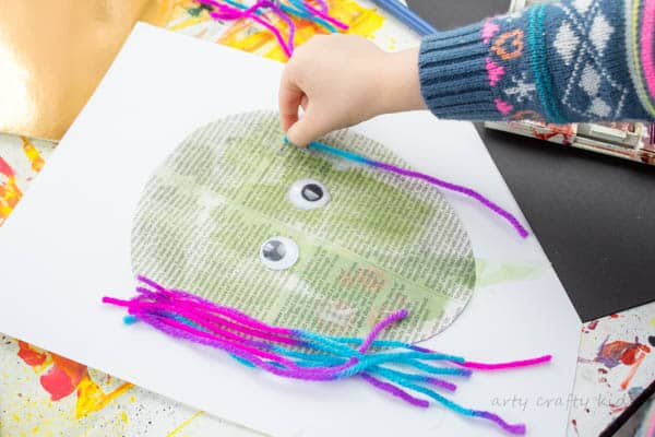 Easy Paper Witch Craft Arty Crafty Kids