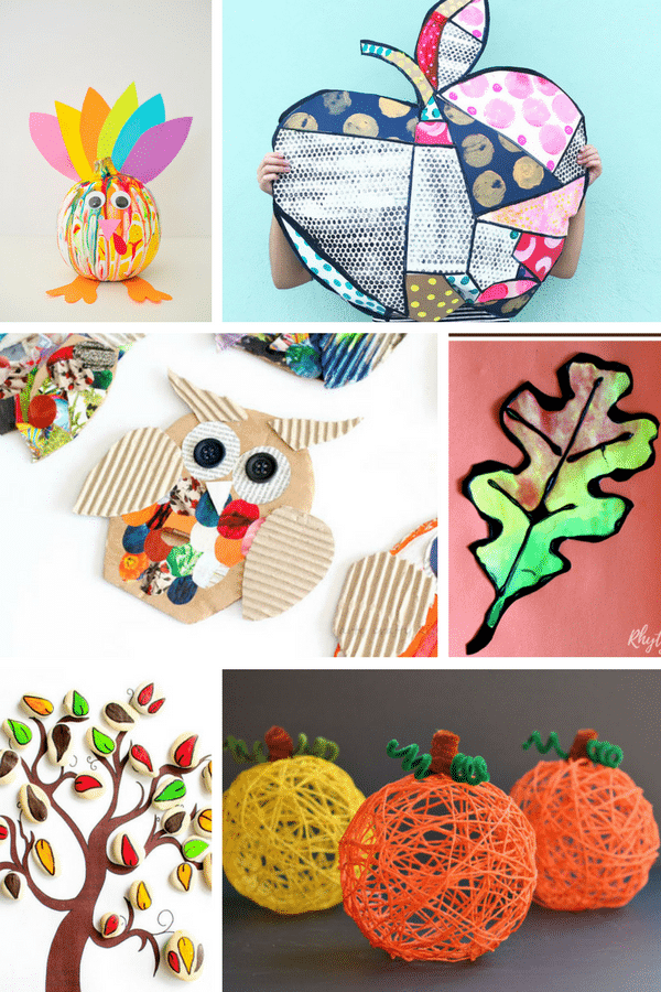 Creative Fall Crafts For Kids Arty Crafty Kids