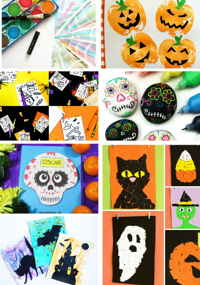 Arty Crafty Kids   Halloween Crafts for Kids   32 Kid-Friendly Halloween Crafts - A super fun collection of easy, fun and cute halloween themed crafts for young children