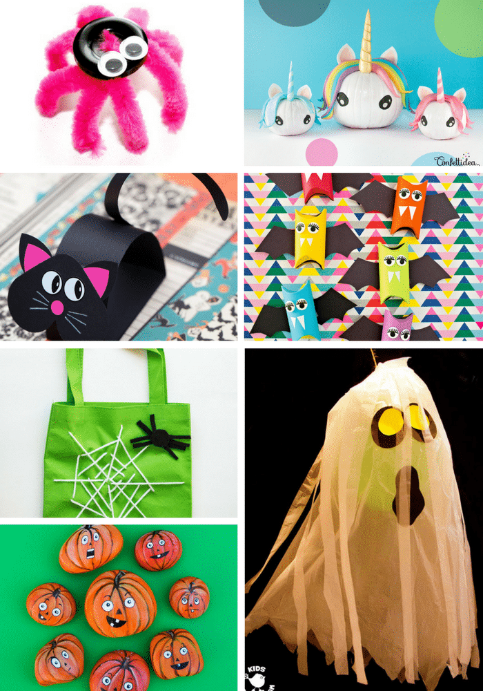 Kid Friendly Halloween Crafts Arty Crafty Kids