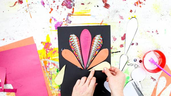 Arty Crafty Kids   Art   Design Your Own Paper Thanksgiving Turkey Craft