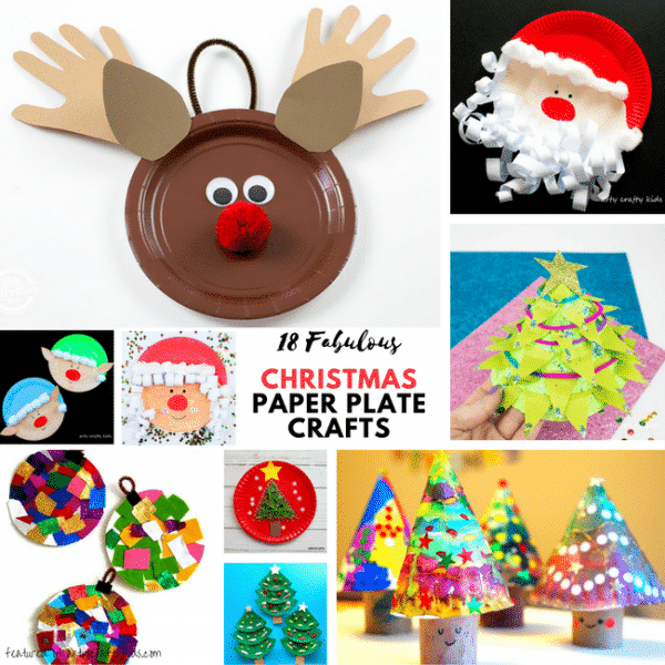 arty crafty kids christmas 18 fabulous paper plate christmas crafts for kids