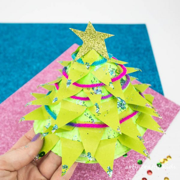 arty crafty kids christmas crafts for kids design your own 3d paper plate christmas