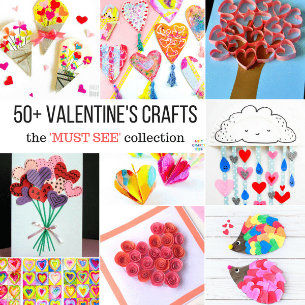 Must See Valentine S Crafts For Kids Arty Crafty Kids