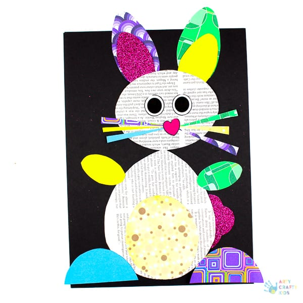 Happy Hoppy Paper Bunny Craft Arty Crafty Kids