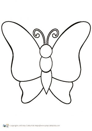 thumbnail of Butterfly Outline