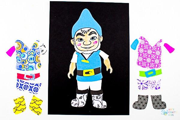 Arty Crafty Kids | Art ideas for Kids | Sherlock Gnomes Pop Art - a fun and creative pop art idea for kids, featuring the characters of #sherlockgnomes #sponsored #kidsart #freetemplate
