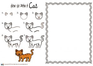 thumbnail of HOW to draw a Cat NEW