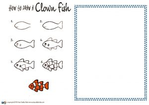 thumbnail of HOW to draw a Clown Fish NEW