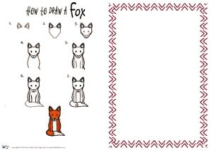 thumbnail of HOW to draw a Fox NEW